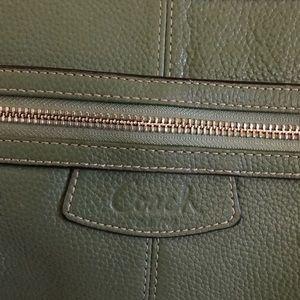 COACH Bags - Minty green COACH Shoulder bag 🌹👍